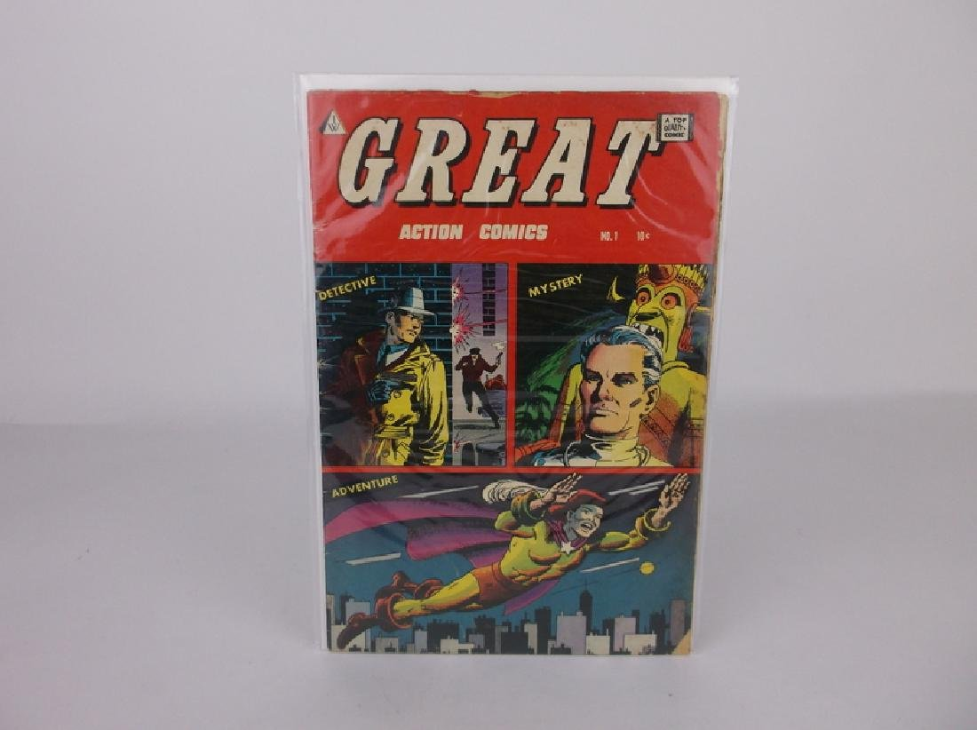 1958 Great Action Comic Book #1