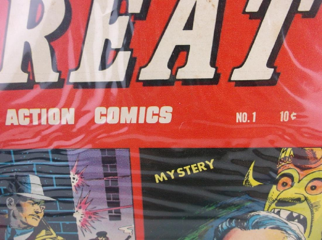 1958 Great Action Comic Book #1 - 2