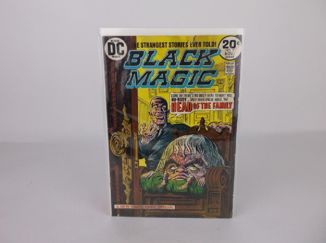 1973 DC Black Magic Comic Book #1 Horror
