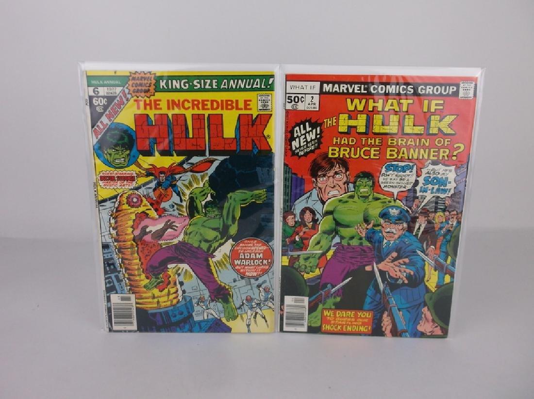 2 Nice 1977 Incredible Hulk Comic Books #2 #6 Marvel