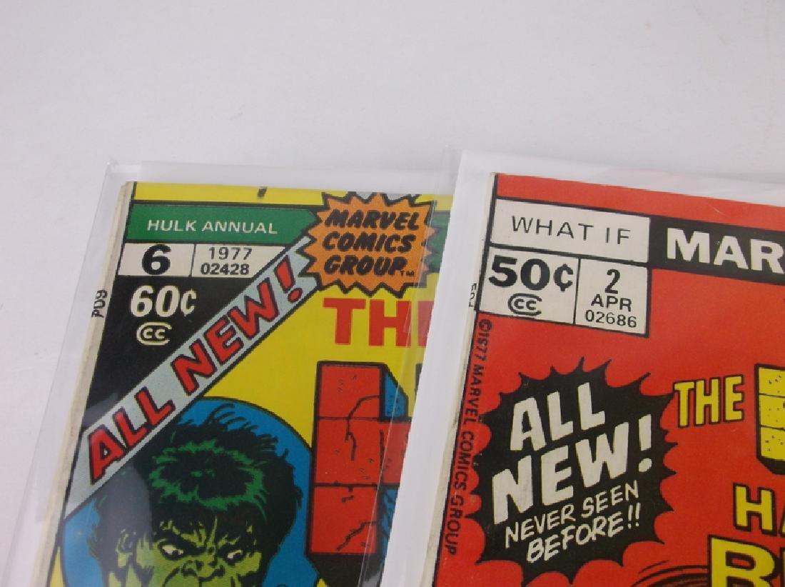 2 Nice 1977 Incredible Hulk Comic Books #2 #6 Marvel - 2