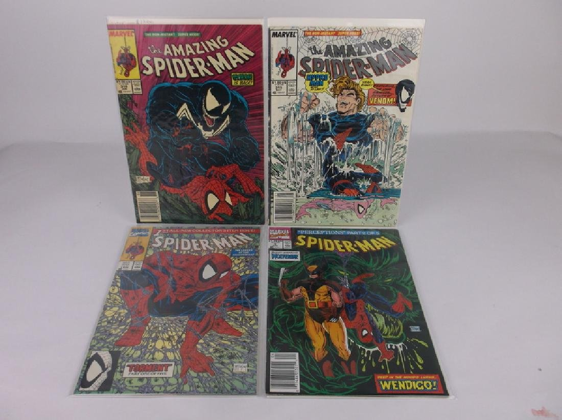 4 Nice Mcfarlane Spiderman Comic Books Venom