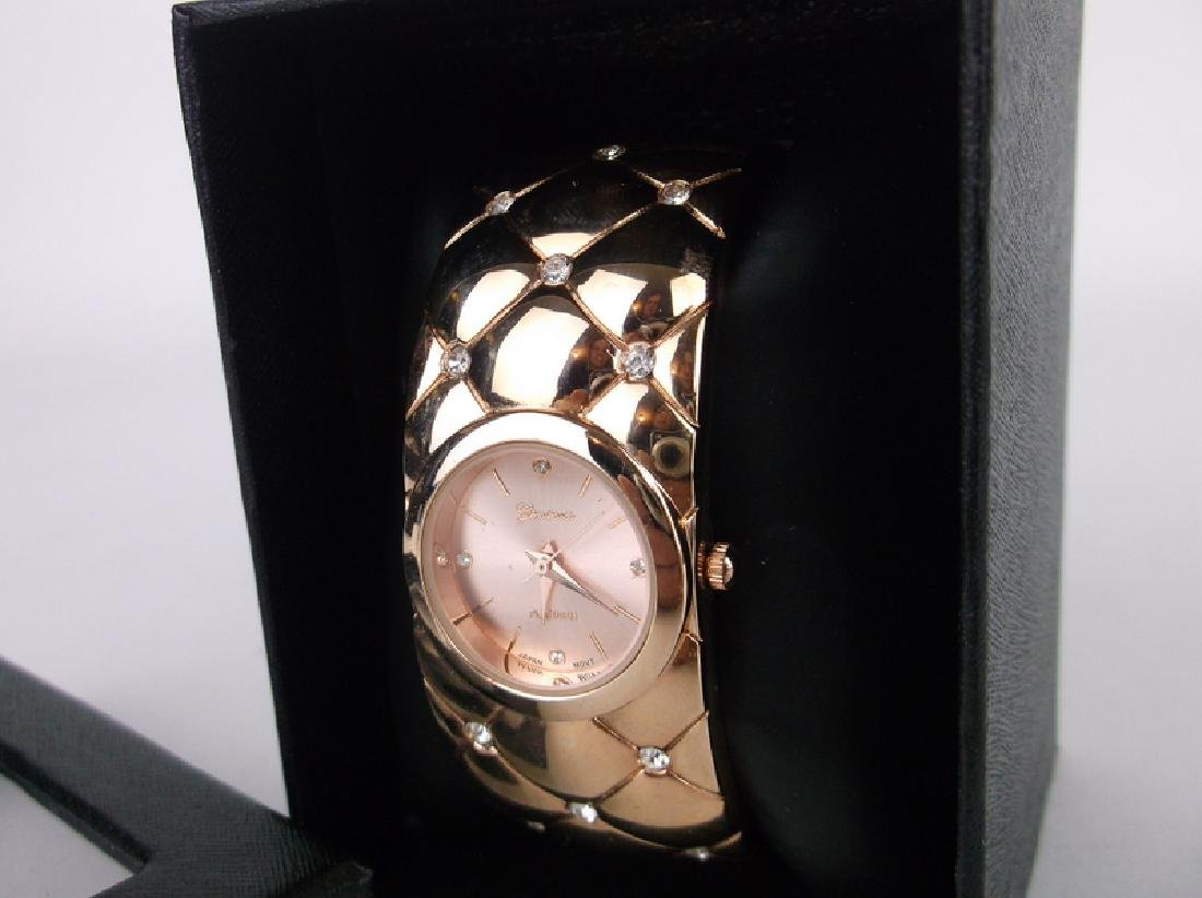 New In Box Bangle Wristwatch Works Great - 2