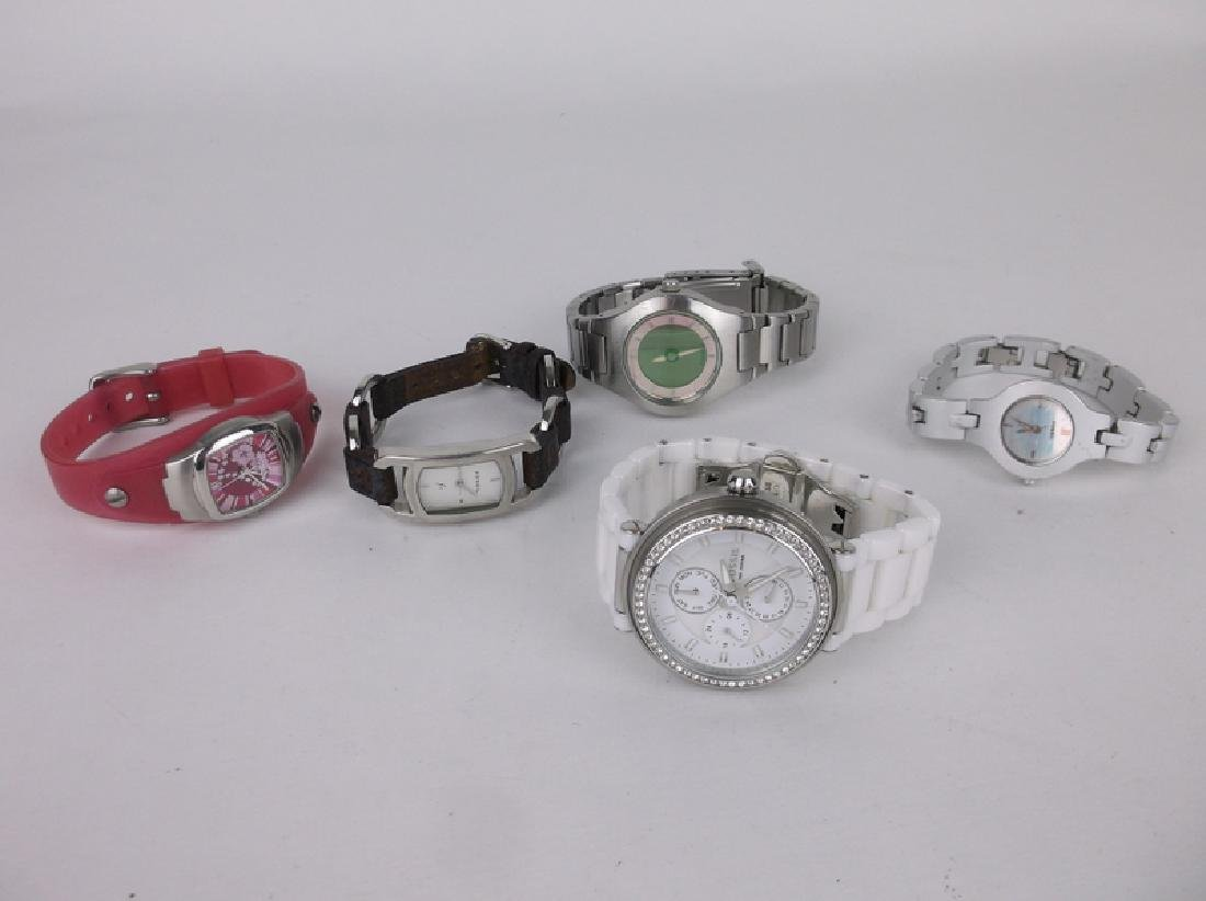 ALL Fossil Wristwatch Lot Work Great Nice