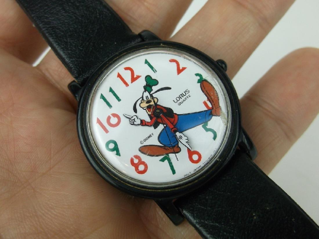 Lorus Disney Goofy Wristwatch Works Great