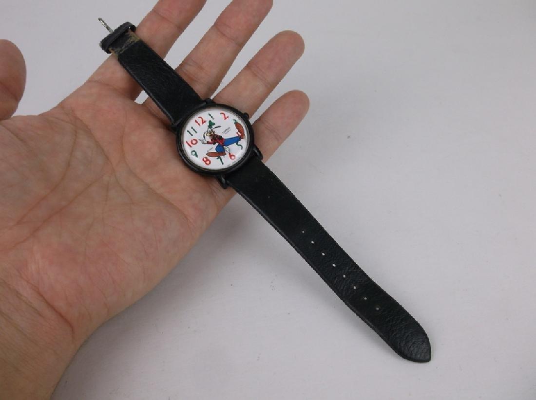 Lorus Disney Goofy Wristwatch Works Great - 2