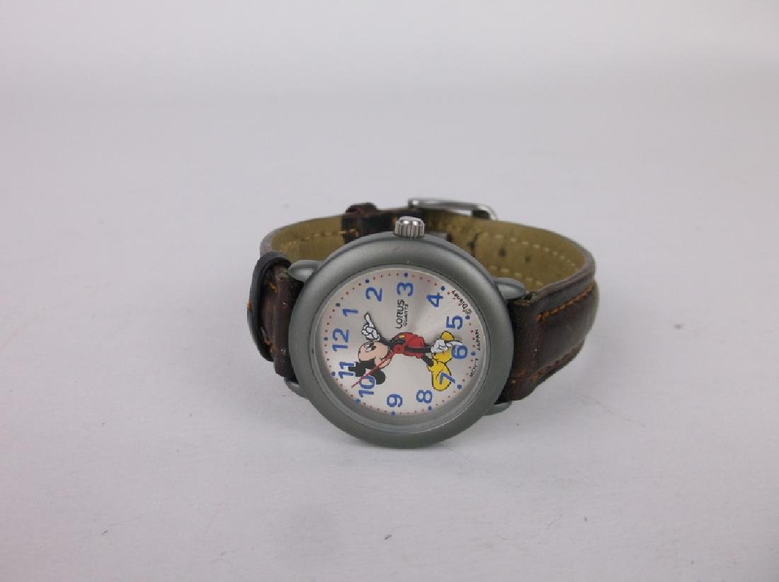 Nice Disney Lorus Mickey Mouse Wristwatch