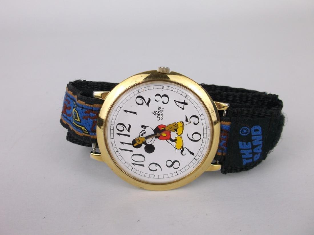 Huge Nice Disney Lorus Mickey Mouse Watch