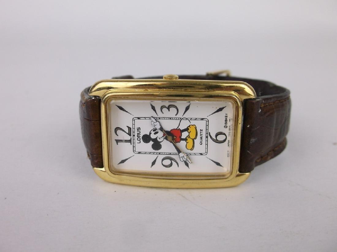 Nice Disney Lorus Mickey Mouse Wristwatch