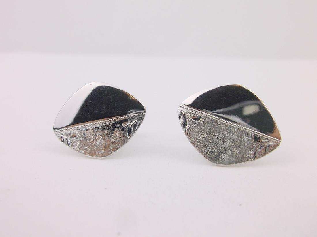 Stunning Sterling Silver Cufflinks