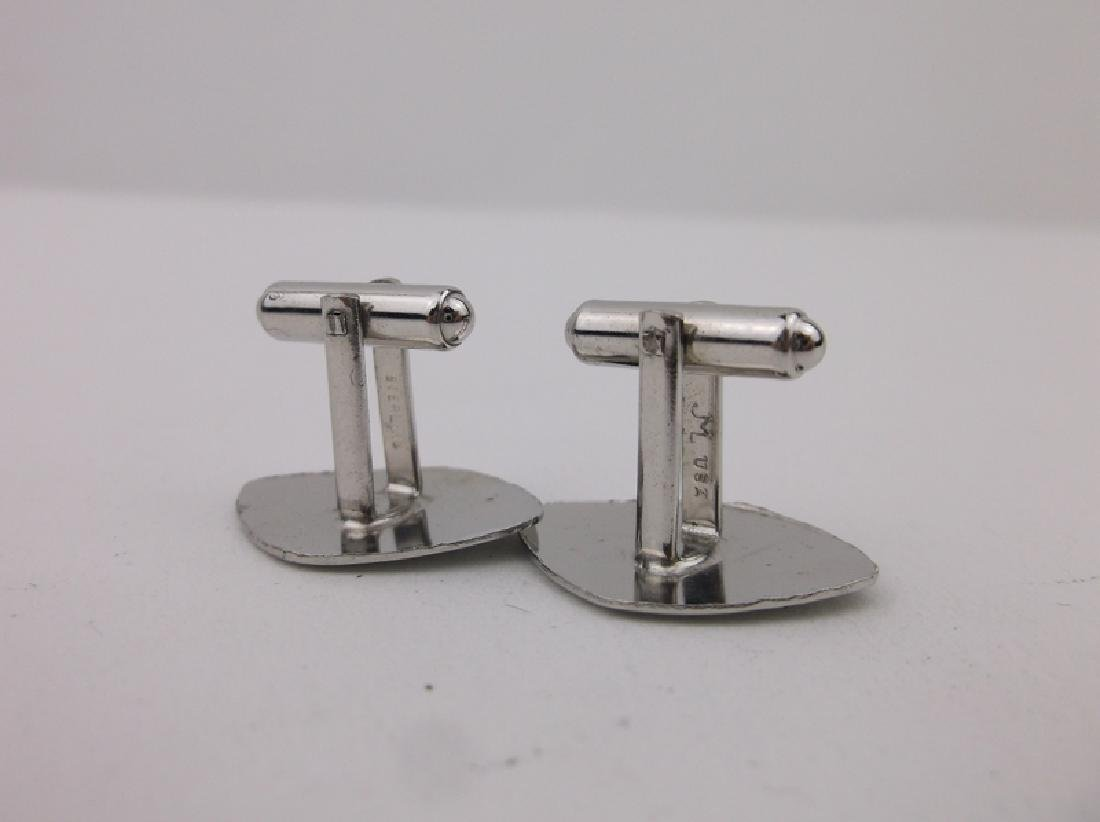 Stunning Sterling Silver Cufflinks - 2