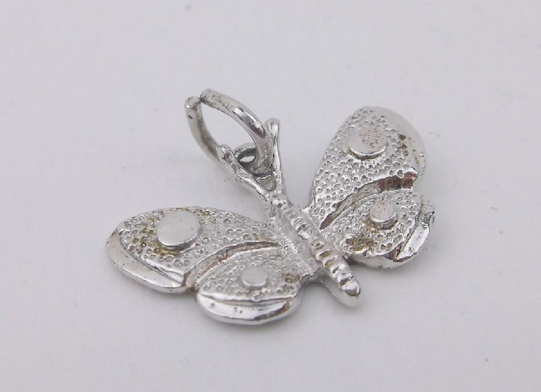 Gorgeous Sterling Silver Butterfly Charm