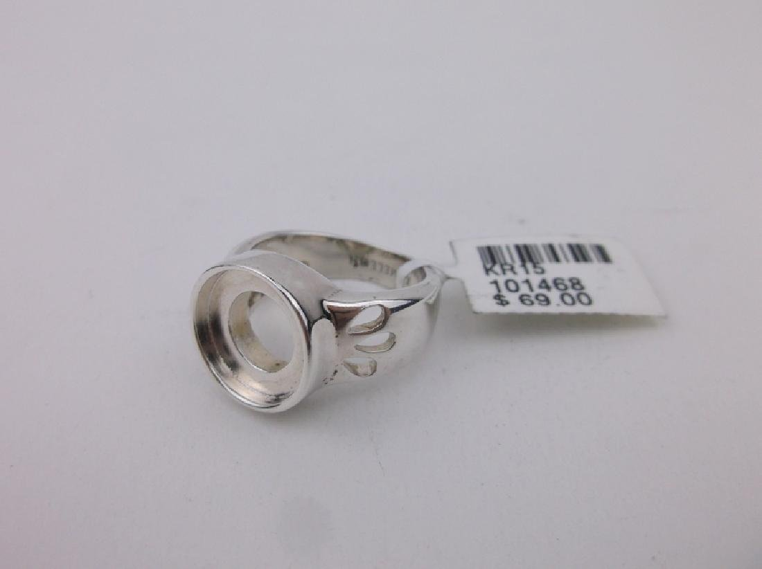 New Sterling Silver Kameleon Ring 5.5