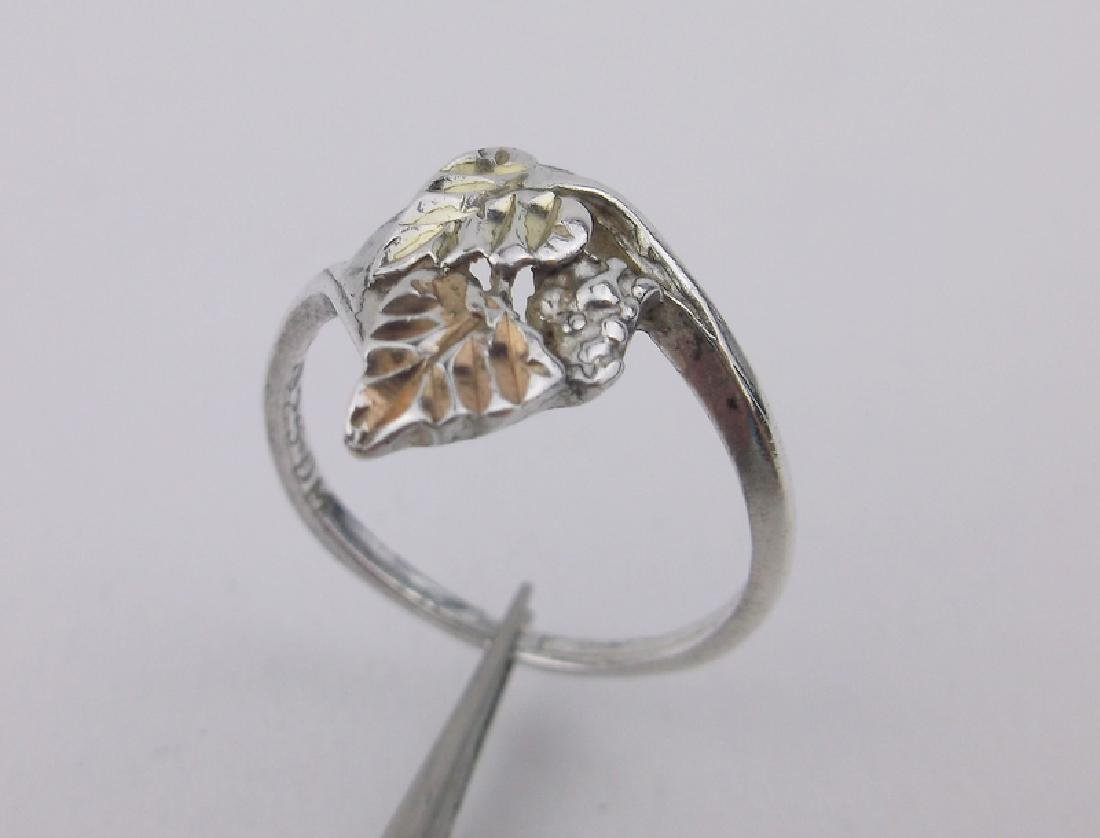 Gorgeous Sterling Silver Black Hills Ring 6