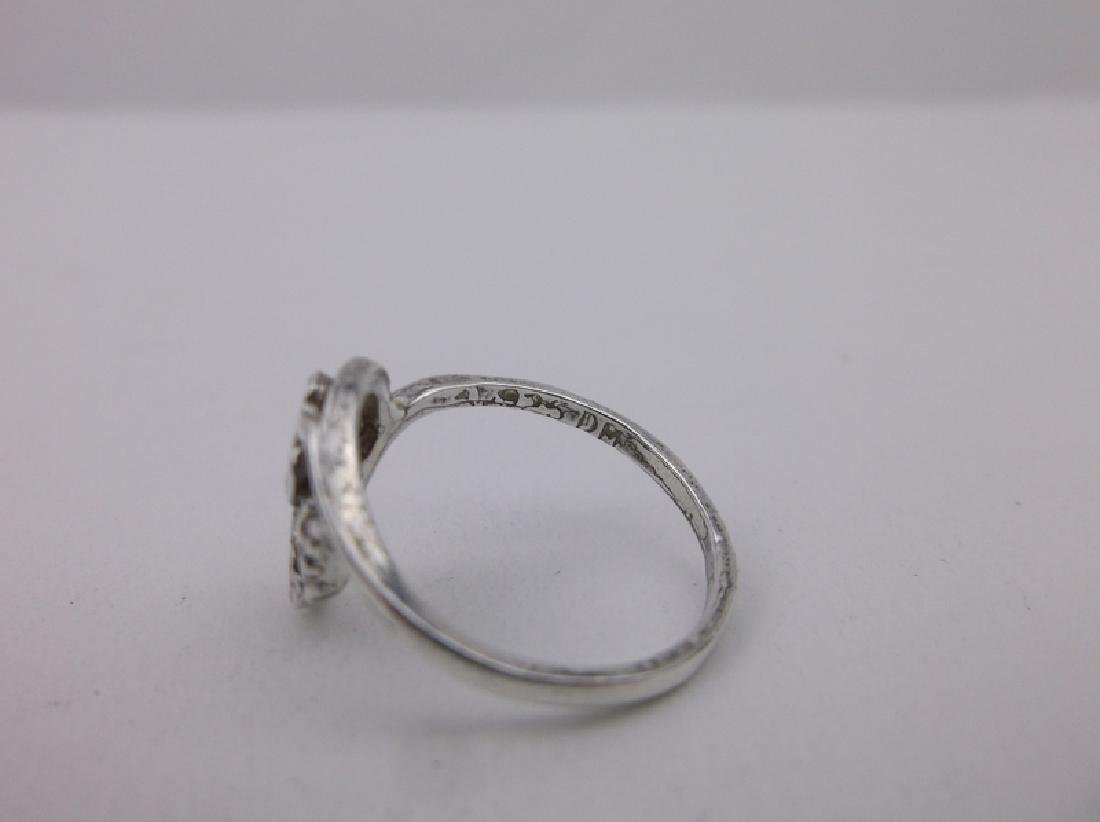 Gorgeous Sterling Silver Black Hills Ring 6 - 2