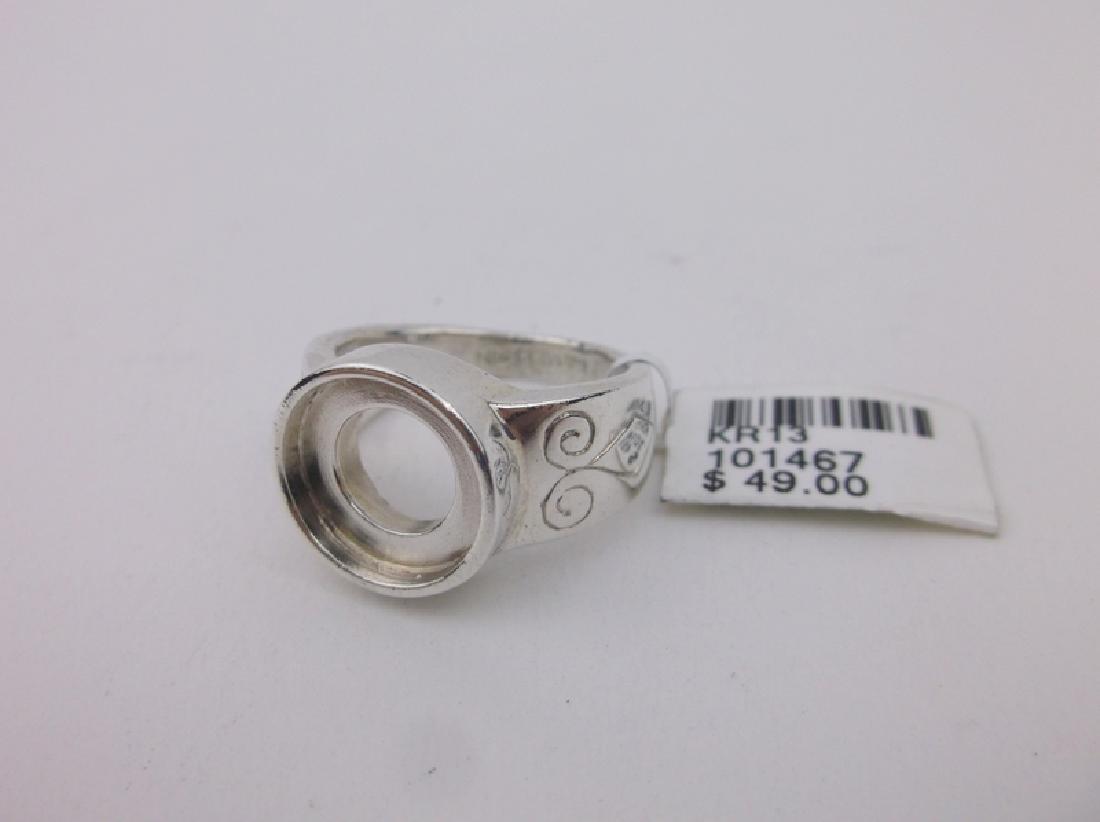 New Sterling Silver Kameleon Ring 6.5