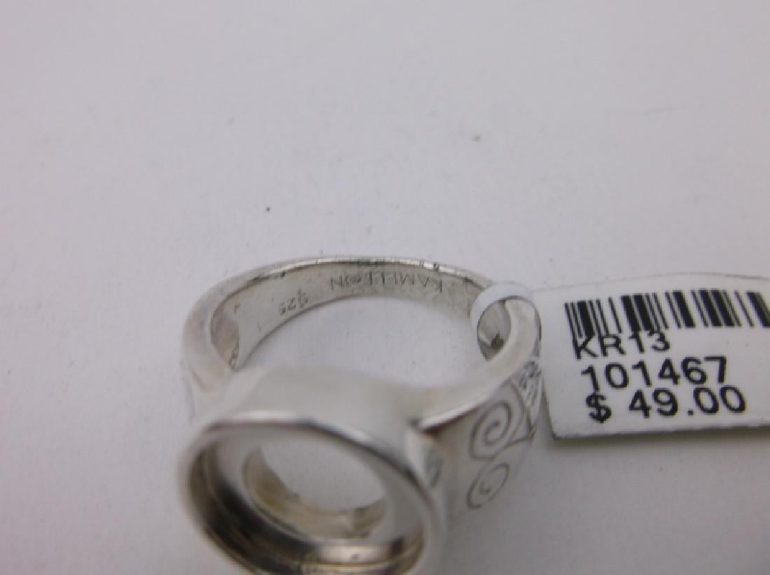 New Sterling Silver Kameleon Ring 6.5 - 2