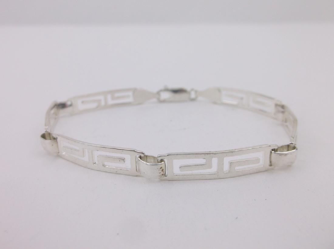 "Stunning Sterling Silver Bracelet 7"""