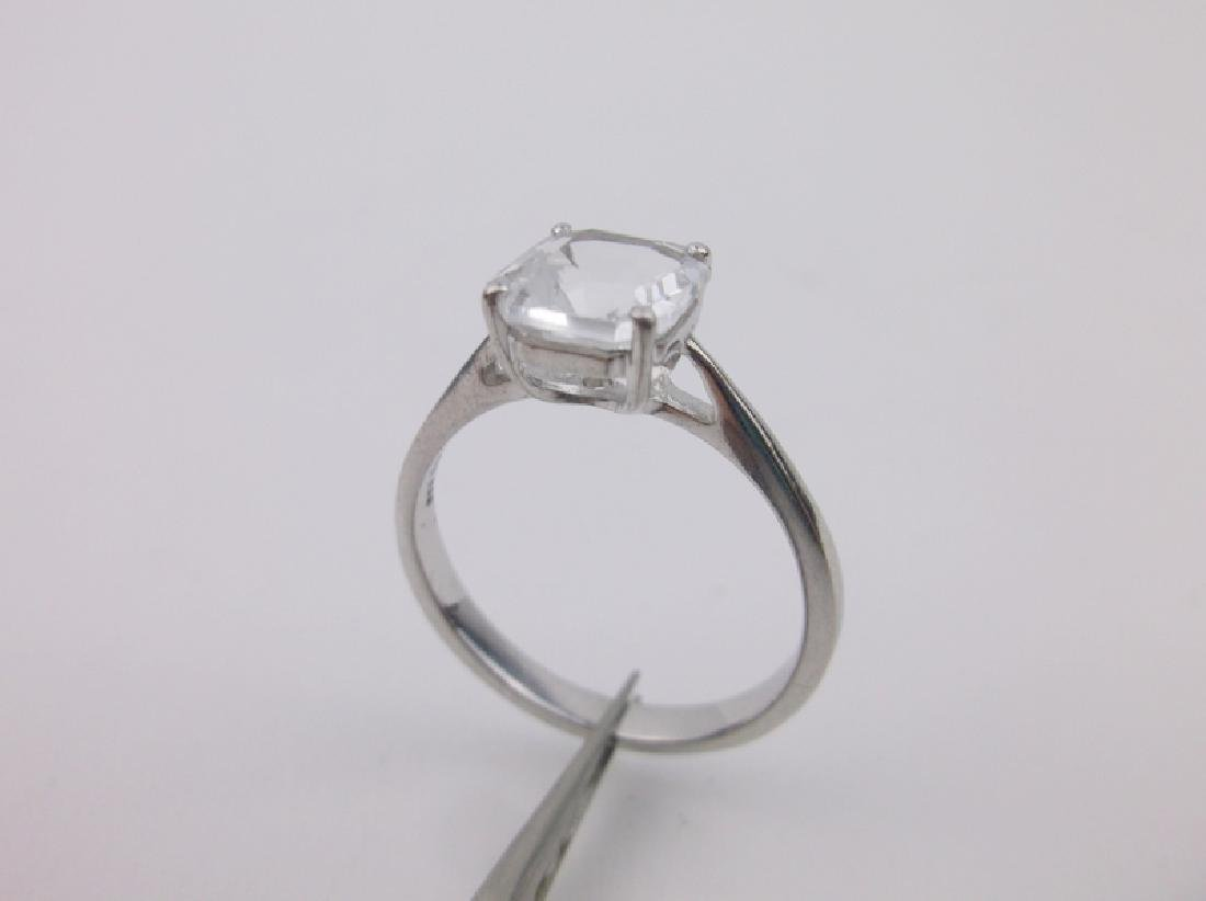 Stunning Sterling Silver Engagement Ring 10