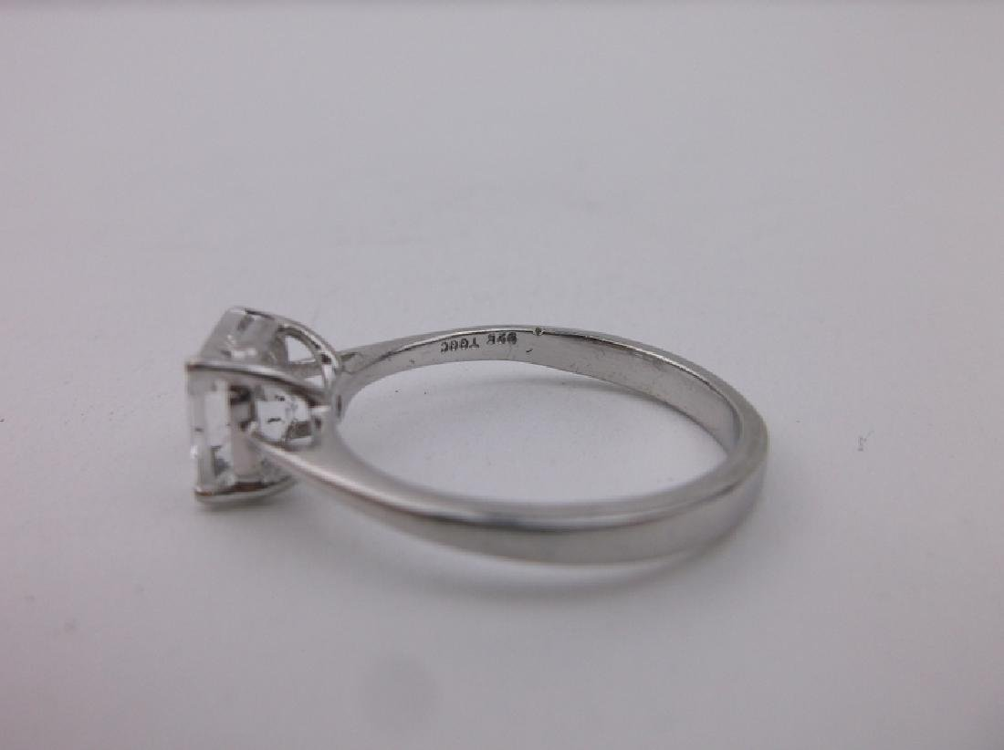 Stunning Sterling Silver Engagement Ring 10 - 2