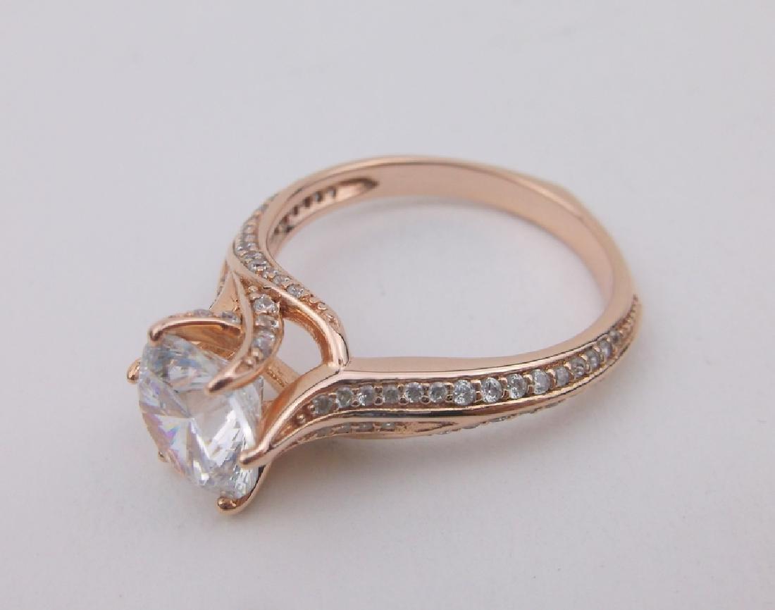 Stunning PAJ Sterling Engagement Ring 10