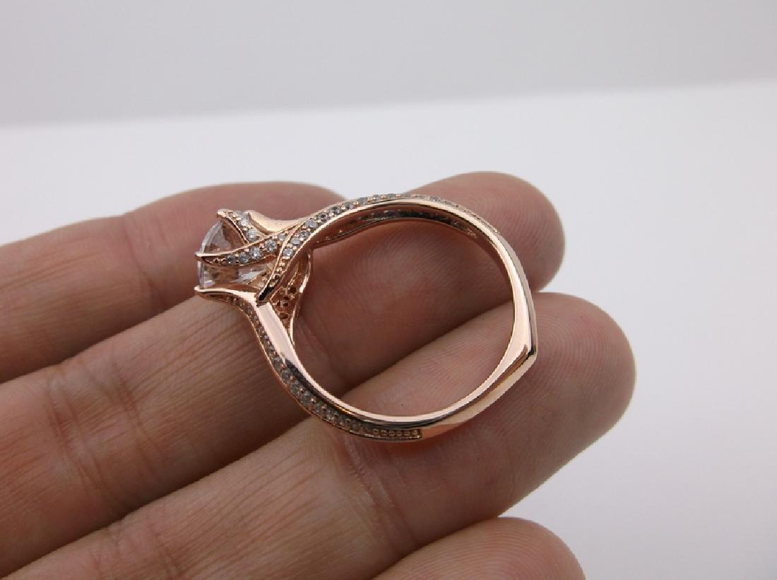 Stunning PAJ Sterling Engagement Ring 10 - 2