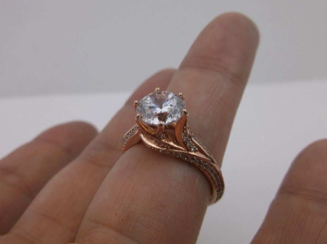 Stunning PAJ Sterling Engagement Ring 10 - 3