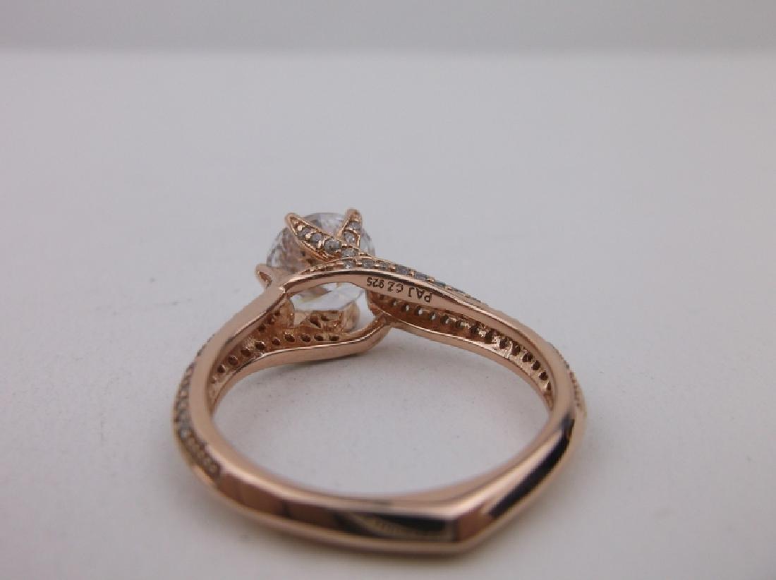 Stunning PAJ Sterling Engagement Ring 10 - 4