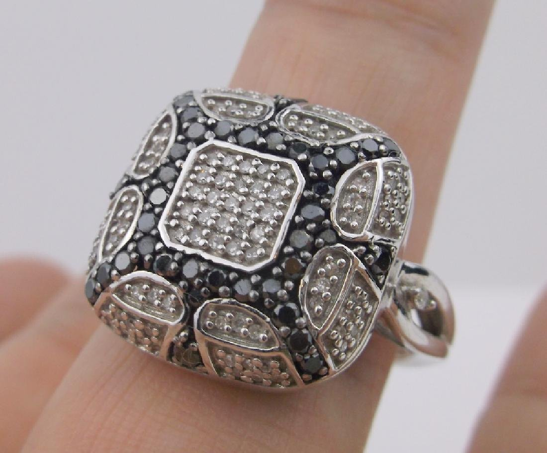 Kay Jewelers Sterling 136 Diamond Ring 11 Stunning