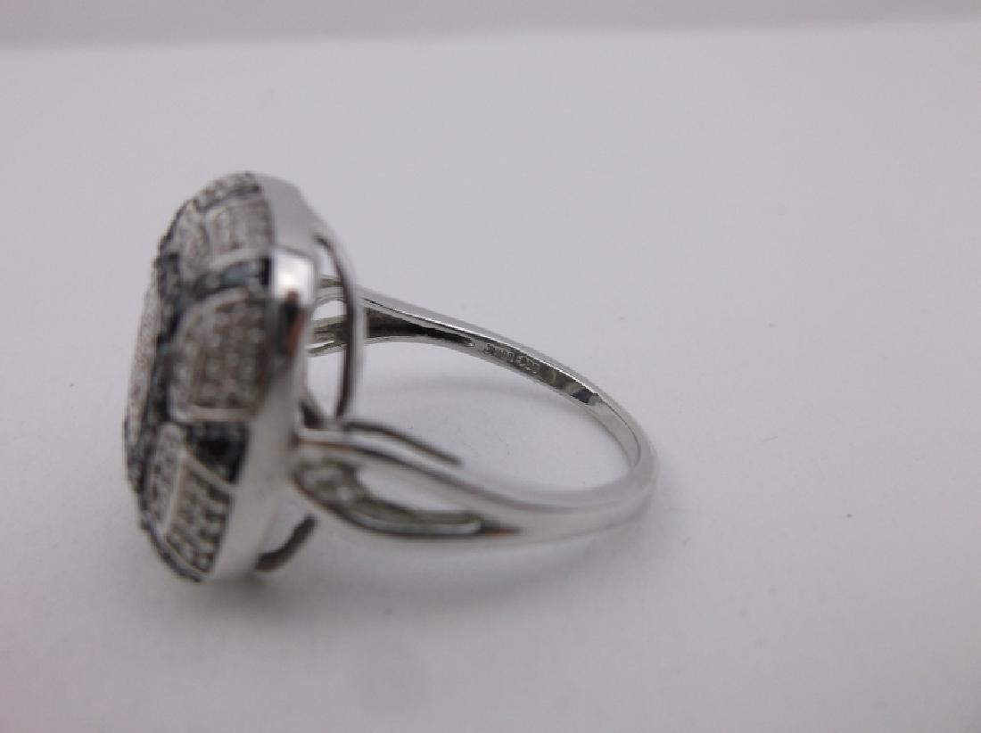 Kay Jewelers Sterling 136 Diamond Ring 11 Stunning - 2