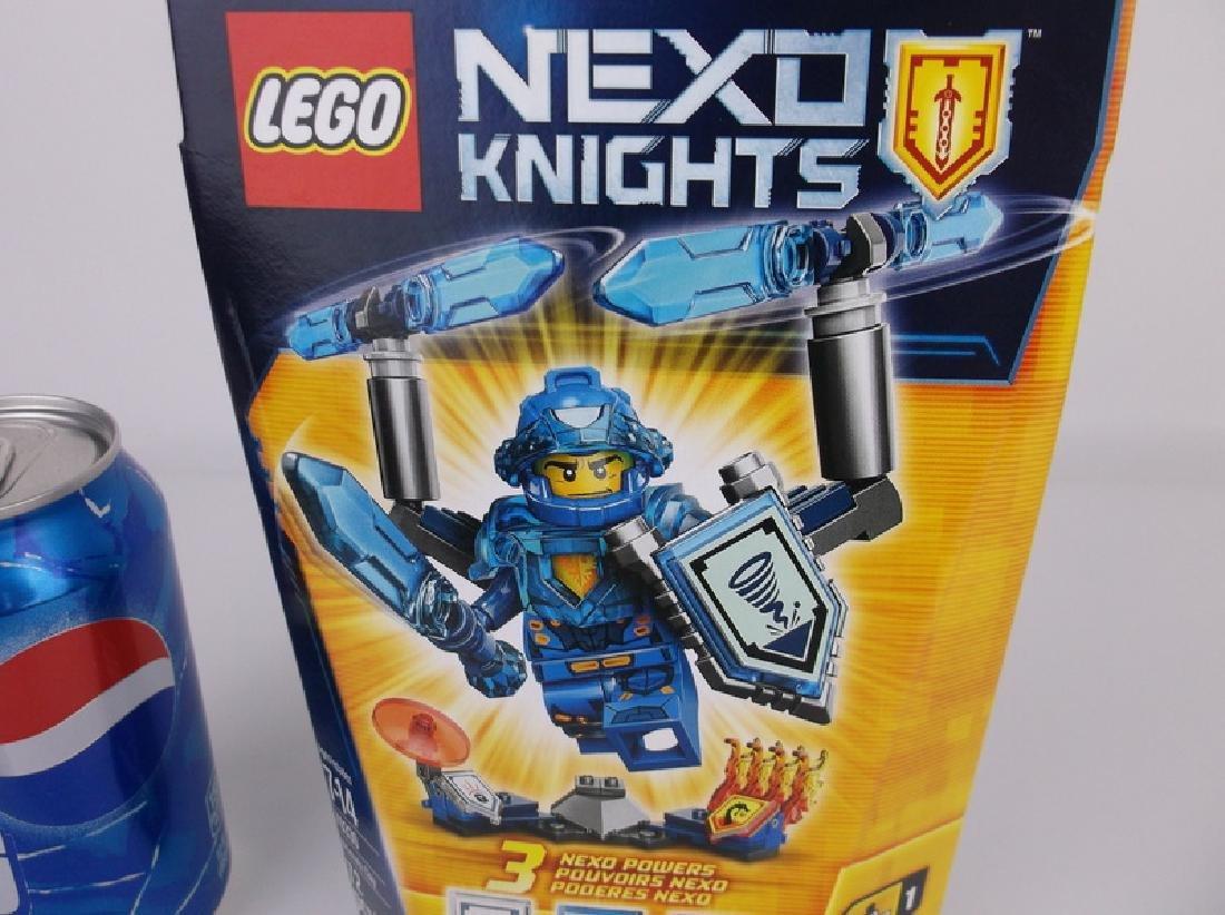 New Lego Nexo Knights Clay Minifigure Set - 2