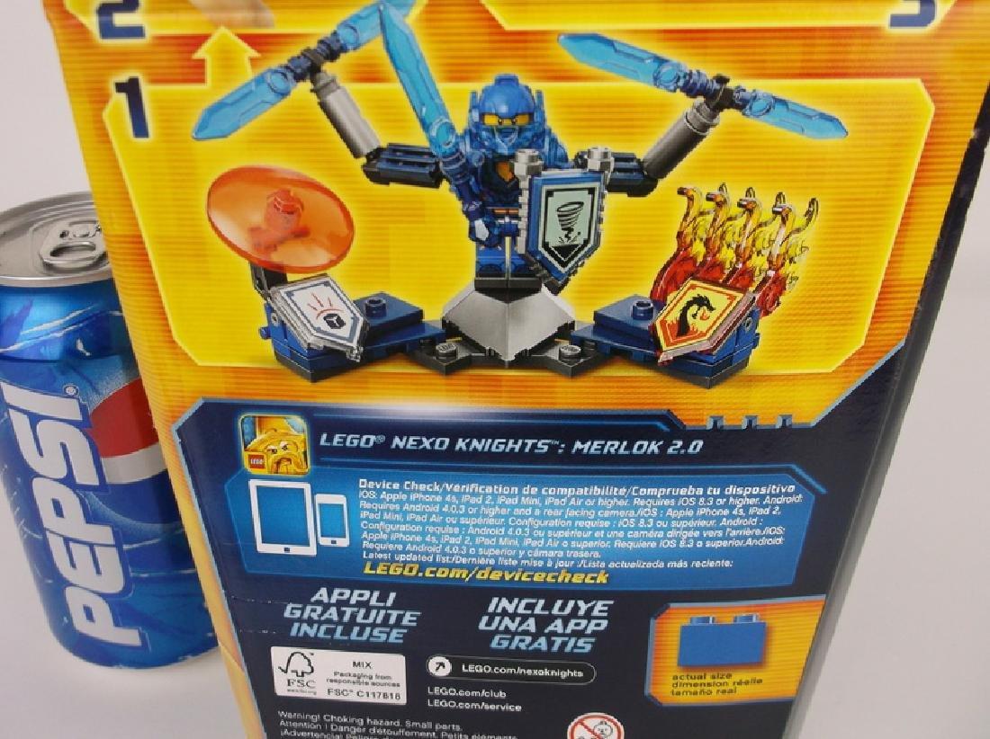 New Lego Nexo Knights Clay Minifigure Set - 3