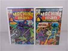 2 Nice 1978 Machine Man Comic Books #2-3 Kirby