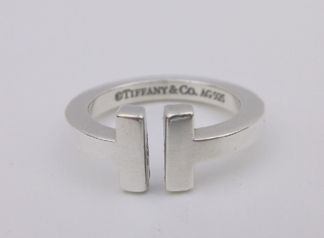 Genuine Tiffany & Co Sterling Silver Ring 5