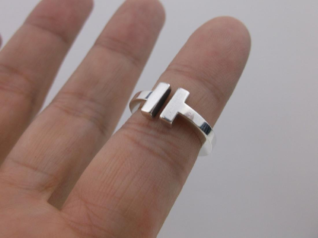 Genuine Tiffany & Co Sterling Silver Ring 5 - 7