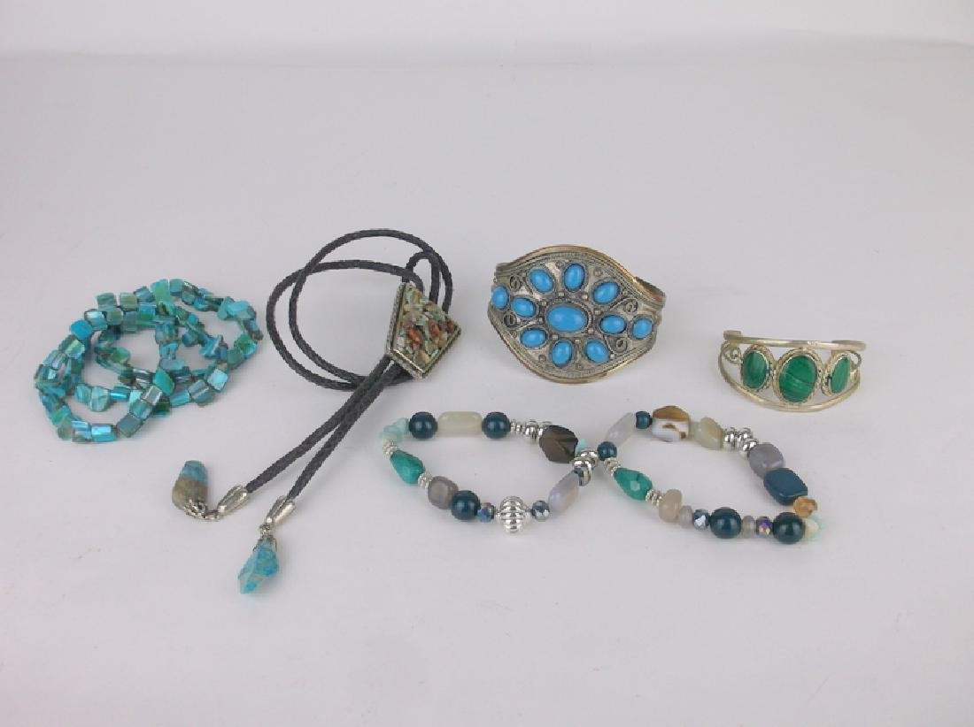 d5ee5ab8b5e2 Southwestern Jewelry Lot Bracelets Bolo Tie - Aug 20, 2018 | Sabertooth  Auctions in KY