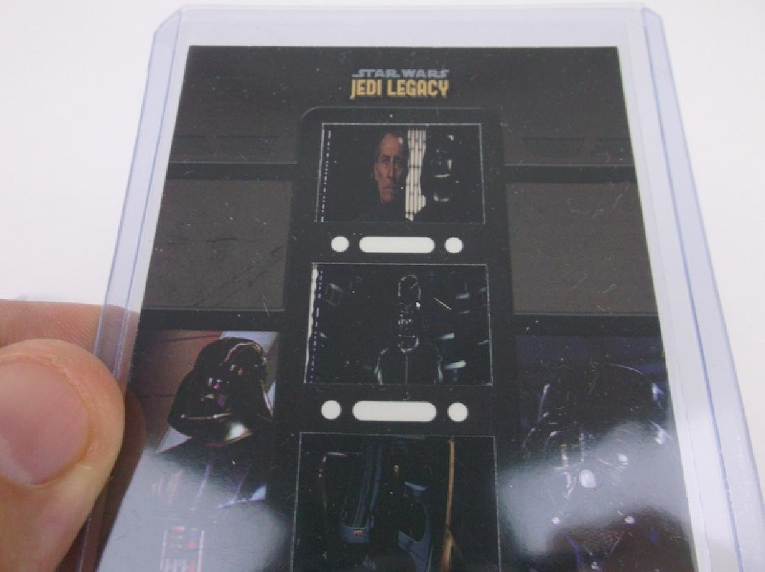 3 Topps Star Wars Fil Cel Relic Cards Darth Vader - 2