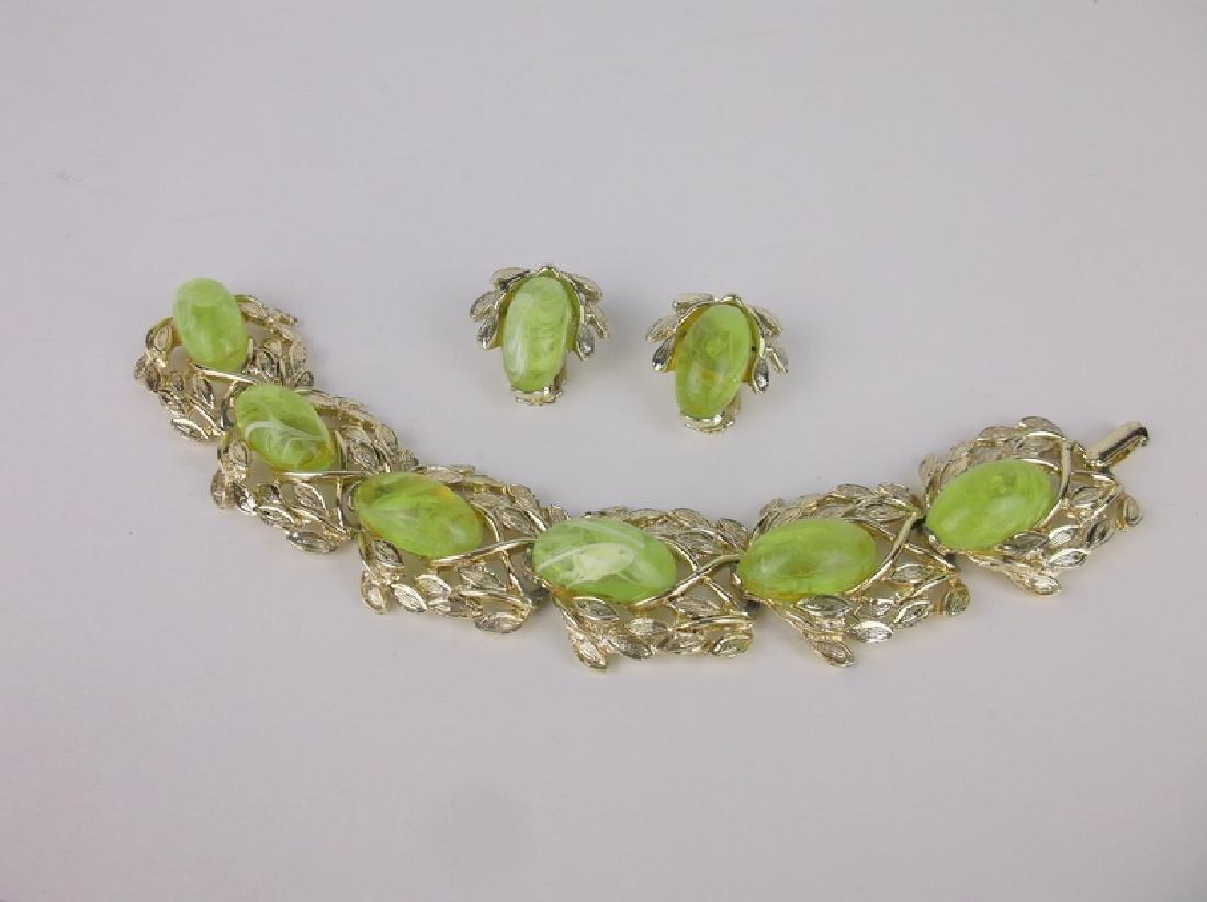 Stunning Vintage Bracelet Earrings Set