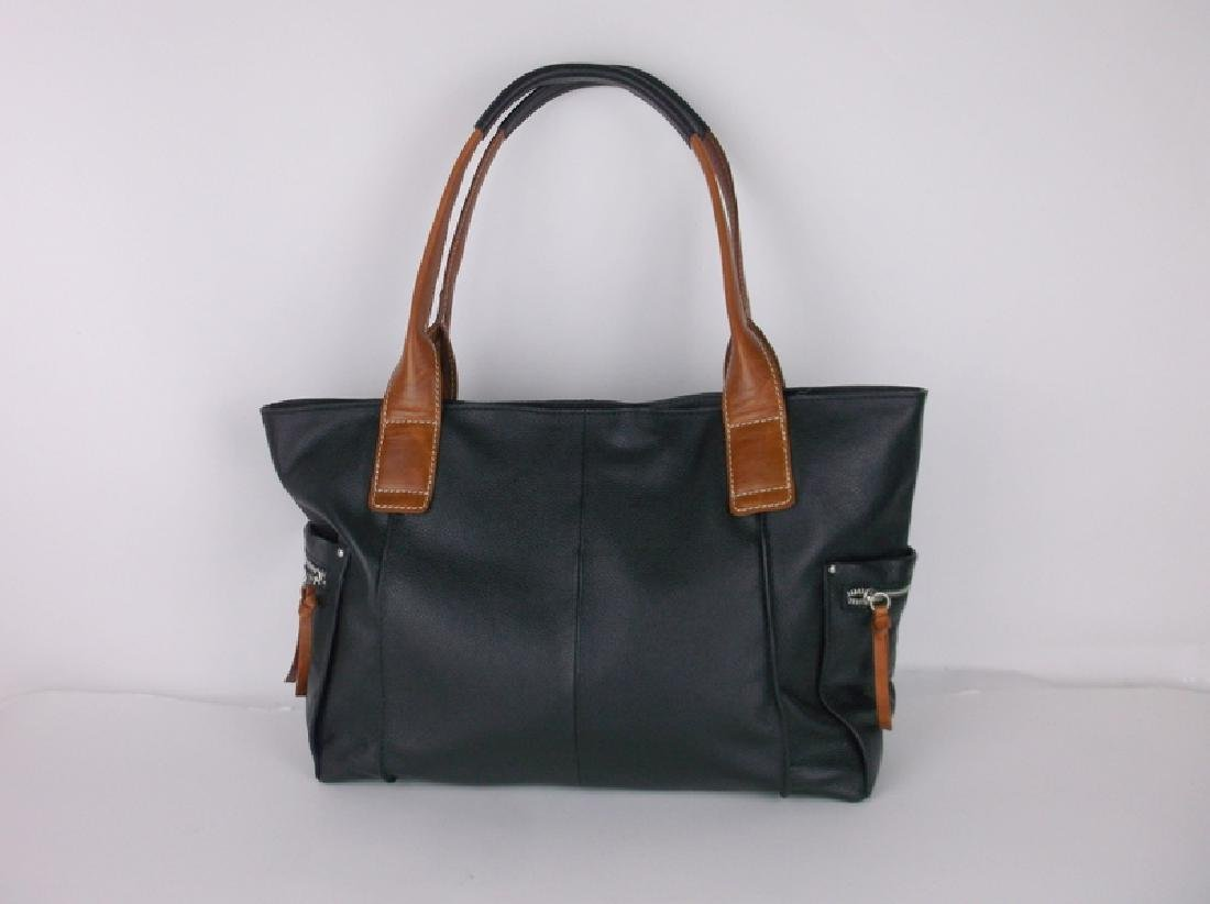 Like New Nino Bossi Leather Handbag Purse