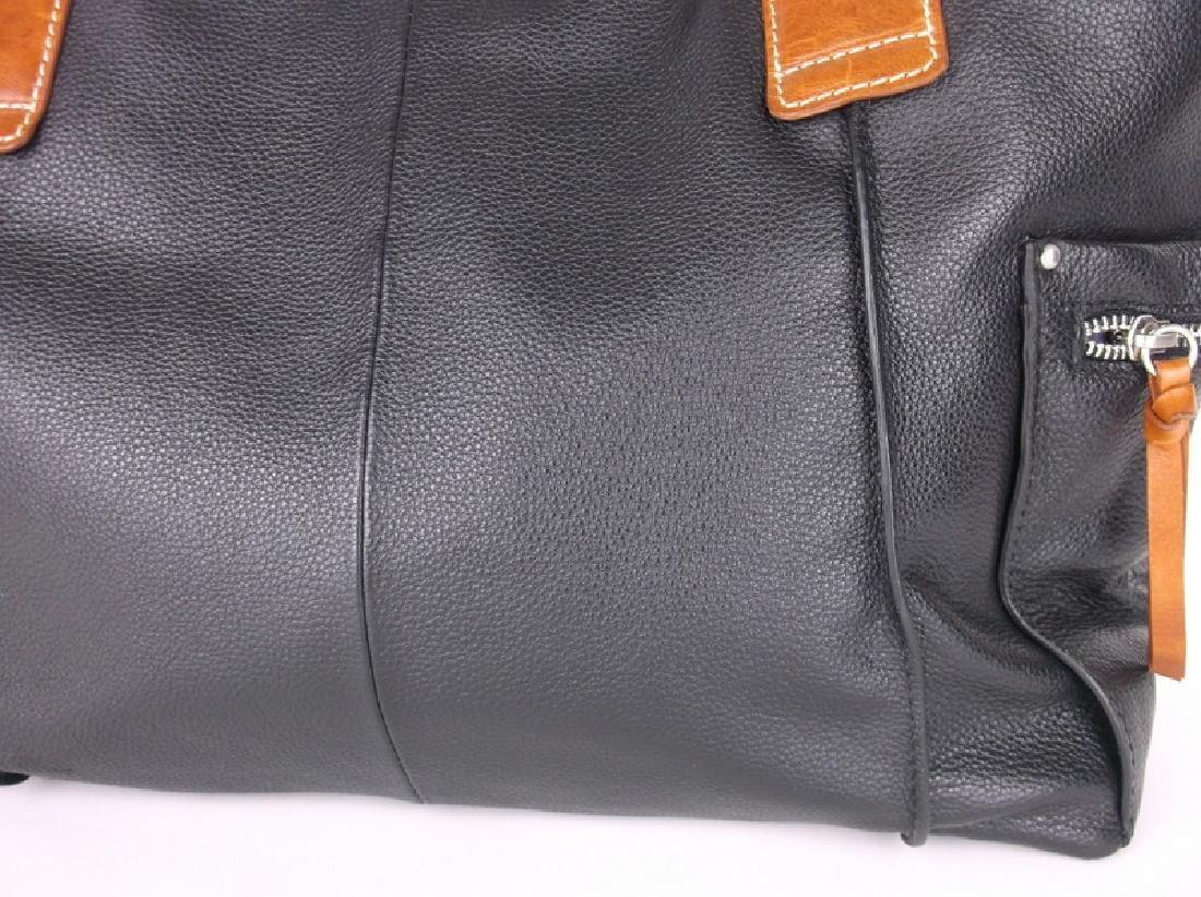 Like New Nino Bossi Leather Handbag Purse - 2