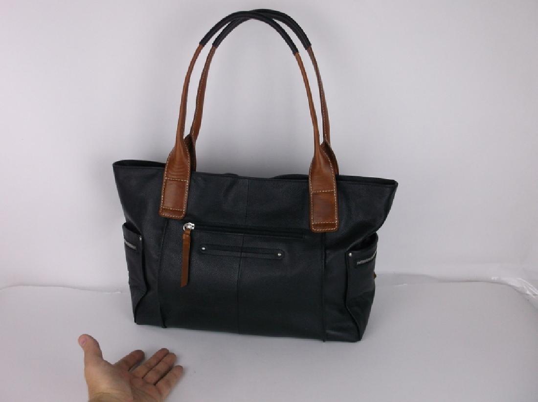 Like New Nino Bossi Leather Handbag Purse - 3