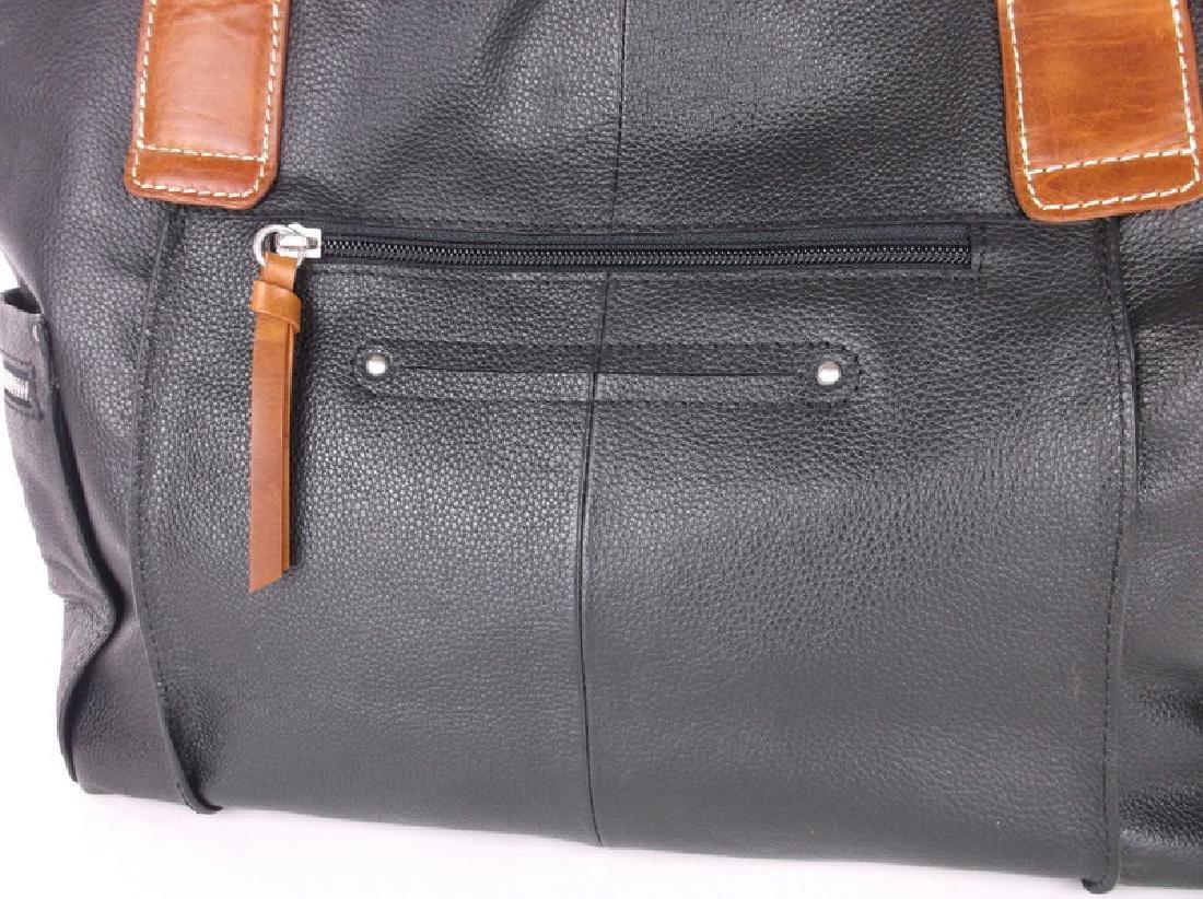 Like New Nino Bossi Leather Handbag Purse - 4