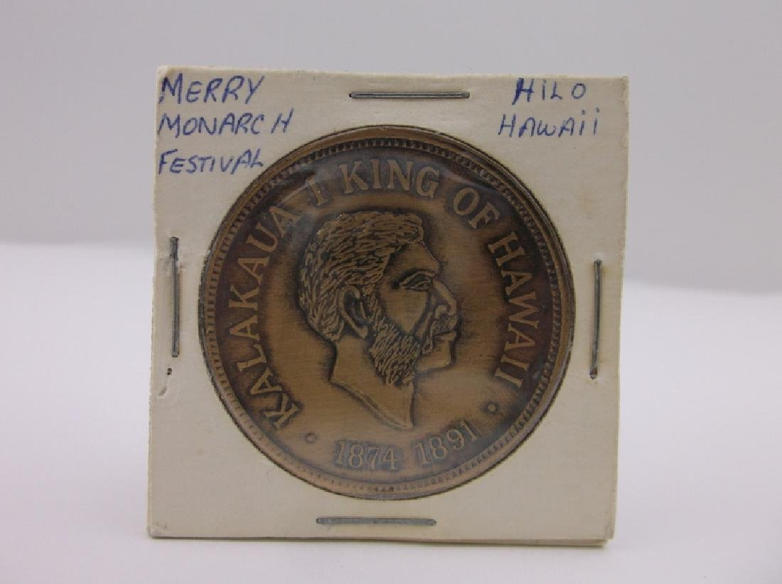 1966 Hawaii Merry Monarch Festival Coin Rare