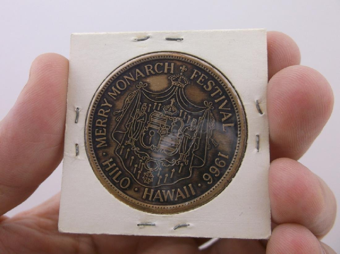 1966 Hawaii Merry Monarch Festival Coin Rare - 2