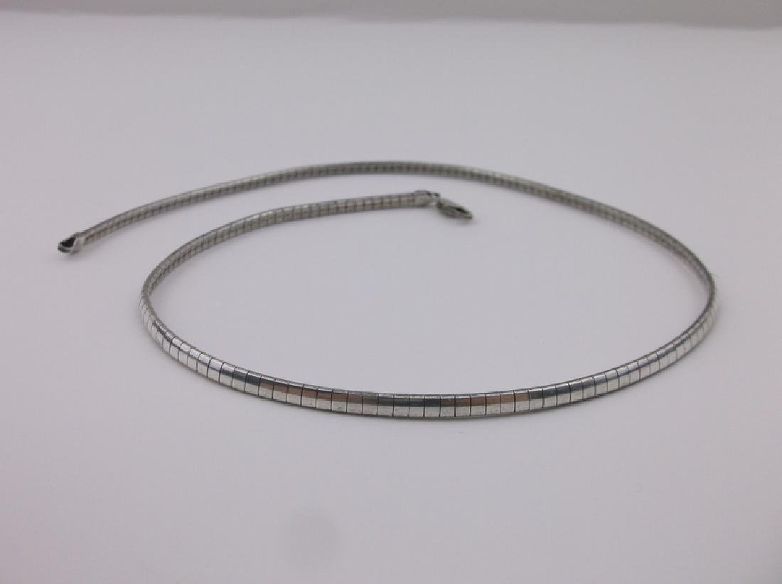 """Gorgeous Thick Sterling Silver Chain Necklace 16"""""""