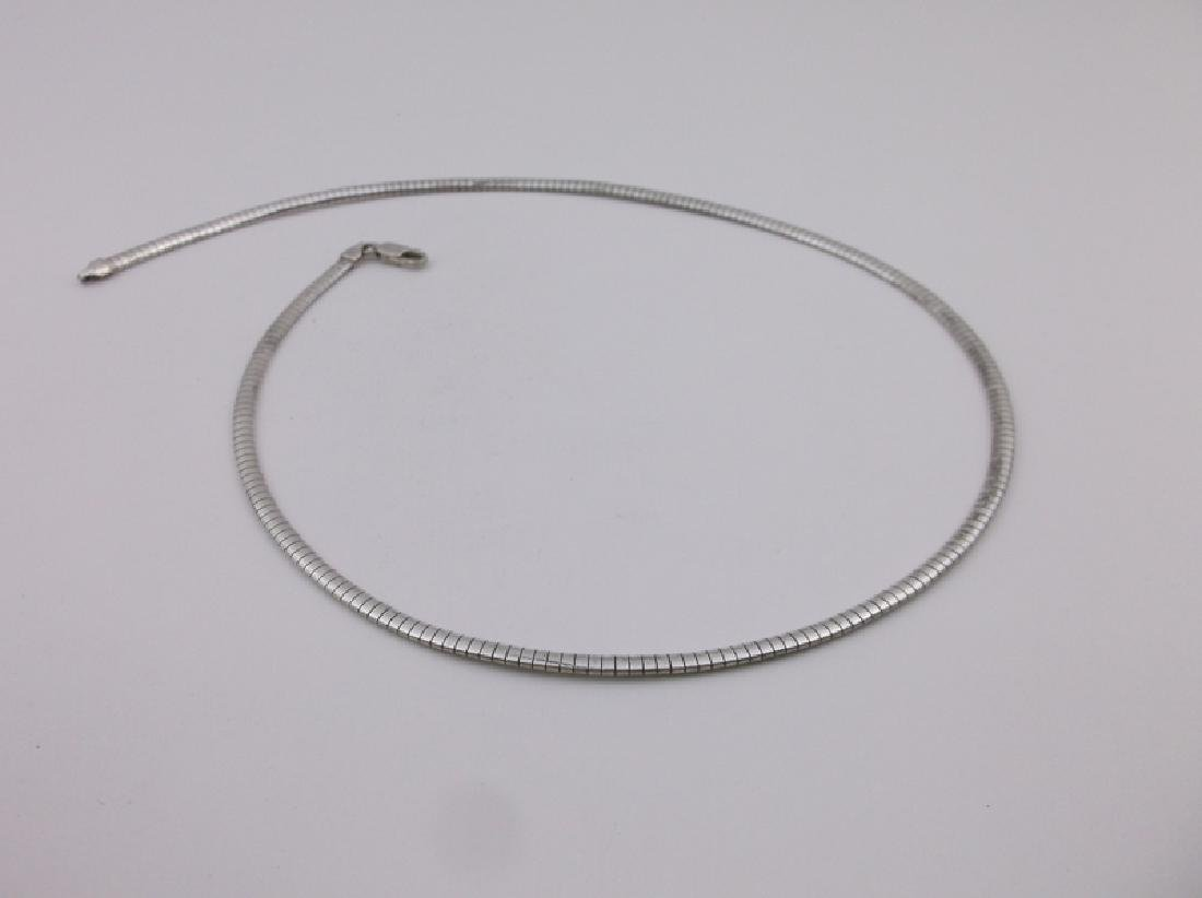 """Stunning Sterling Silver Thick Chain Necklace 18"""""""