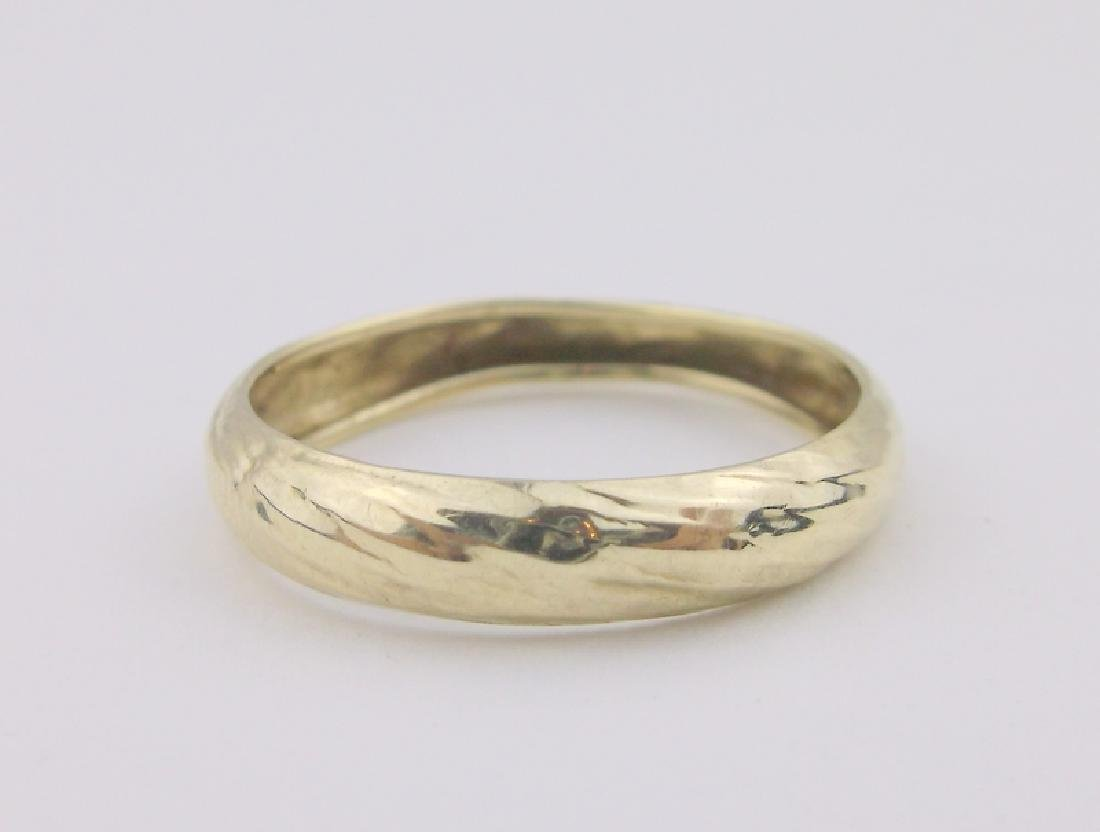 Gorgeous 10kt Gold Band Ring 8 BBB