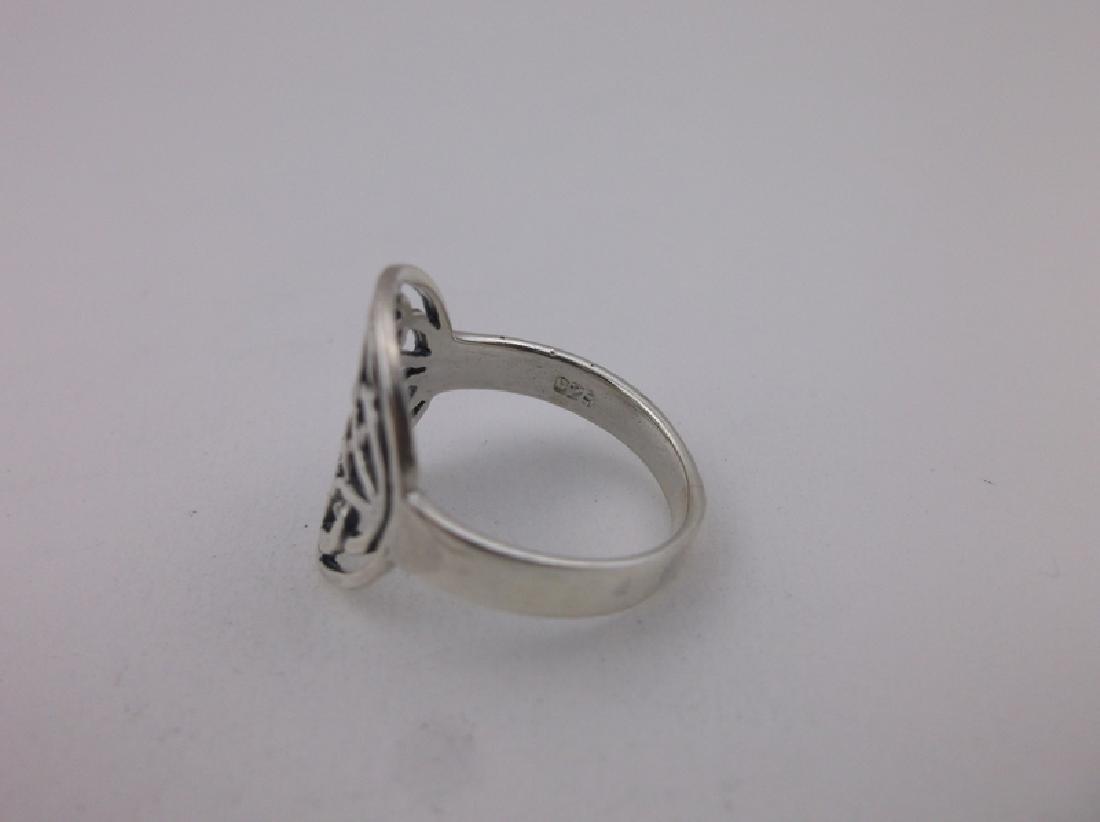 Stunning Sterling Silver Keltic Ring 7 - 2