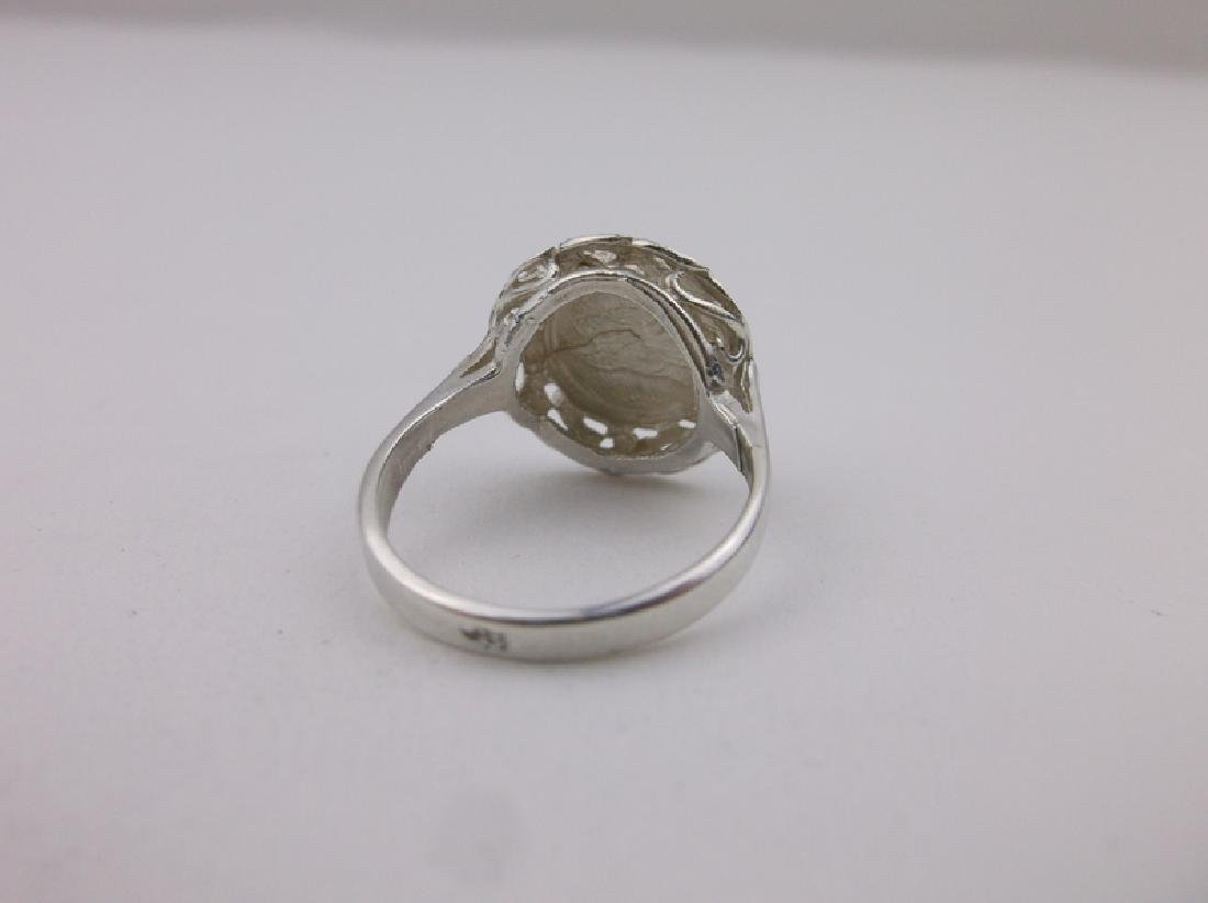 Stunning Sterling Silver Coin Ring 5 - 2