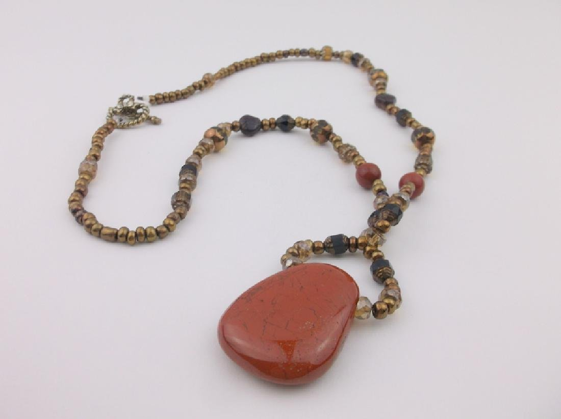 Stunning Red Jasper Necklace Southwestern